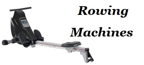 Fitness Equipment - Banner - Rowing Machine
