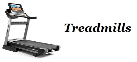 Fitness Equipment - Banner - Treadmills